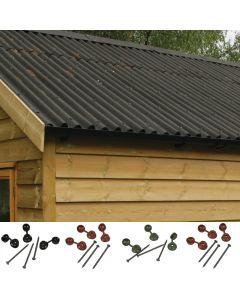 Coroline Corrugated Bitumen Roofing Sheets: Sheet Fixings