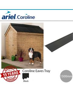 Coroline Corrugated Bitumen Roofing Sheets: Eaves Tray