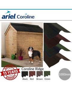 Coroline Corrugated Bitumen Roofing Sheets: Ridge