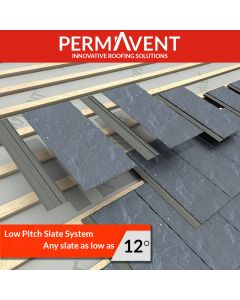 Permavent Easy Slate  at Ashbrook Roofing