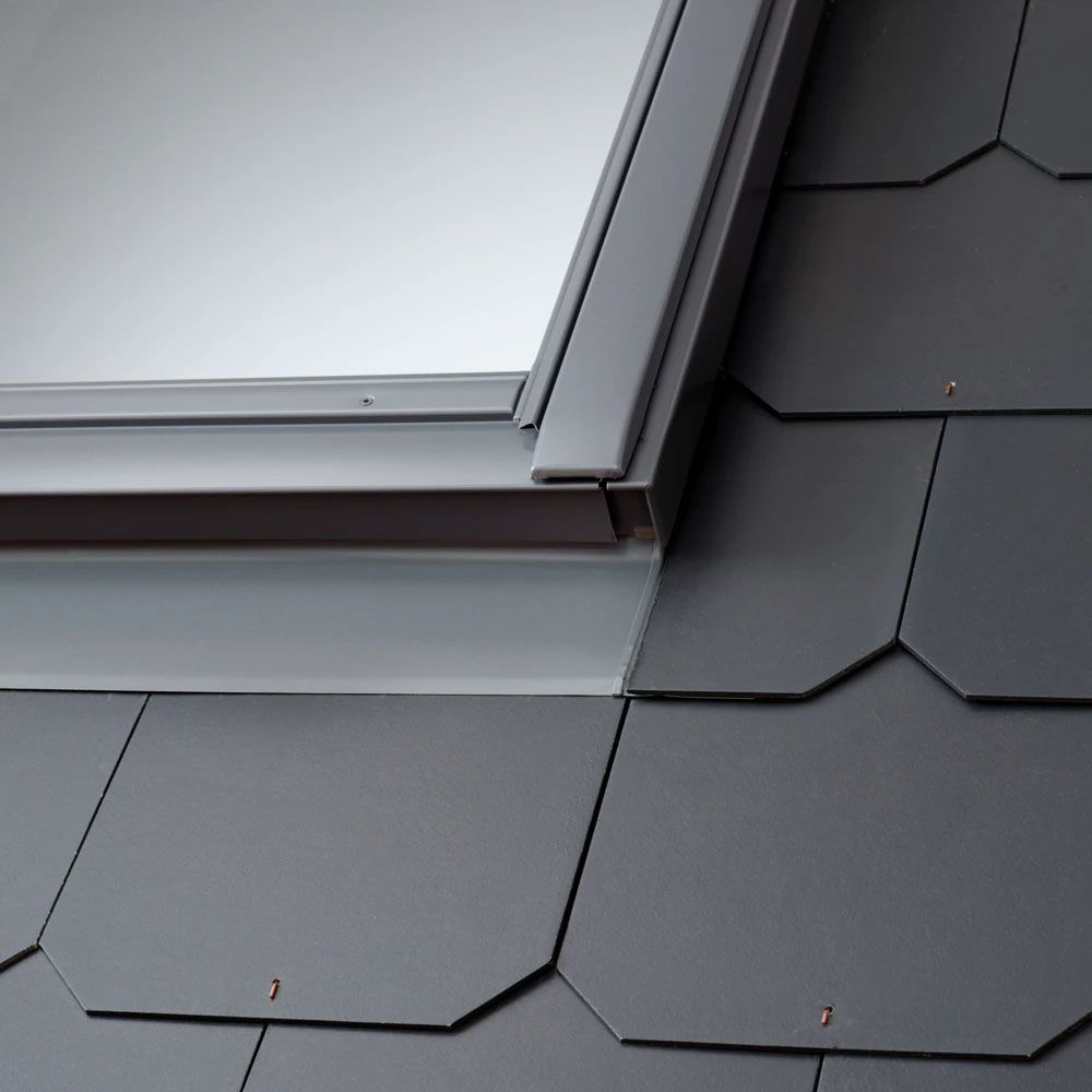EDL VELUX Flashing Kit & Insulation Kit Included - For Roofs with Slate up to 8mm in Profile