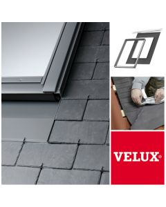 EDN UK04 2000 Velux Recessed Flashing Kit (for slate roofs of up to 8mm in thickness) Insulation Kit Included