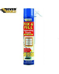 Fix & Fill Expanding Foam: 500ml