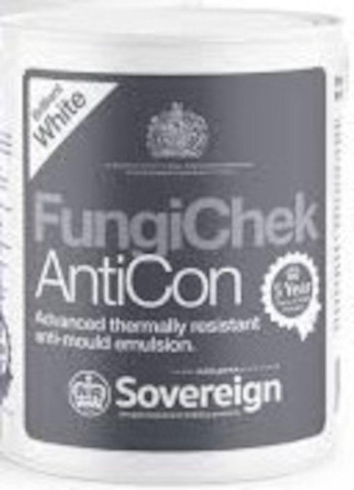 Sovereign Fungi-Chek Anticon: Brilliant White (5ltr)