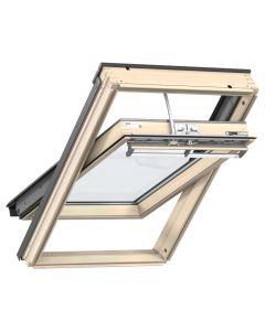 GGL 307021U VELUX INTEGRA® Pine Electric Centre-Pivot Roof Window