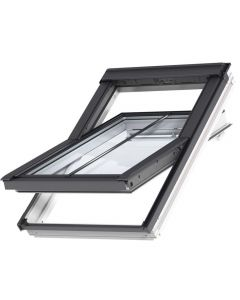GGL SD5W2 White-Painted Centre-Pivot VELUX Conservation Rooflight for Tiles up to 120mm in Profile
