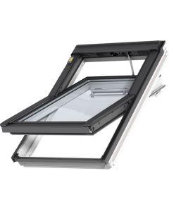 GGU 007030 VELUX INTEGRA® White Solar Centre-Pivot Roof Window
