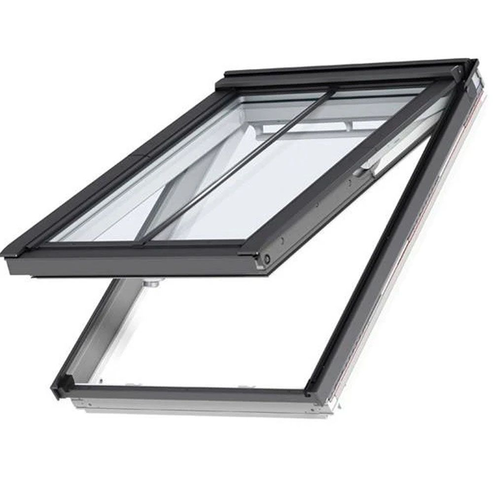 GPL MK08 SD5N2 White-Painted Top-Hung VELUX Conservation Rooflight for Slate Roofs (78cm x 140cm)
