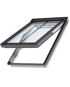 GPL MK08 SD5P2 White-Painted Top-Hung VELUX Conservation Rooflight for Plain Tiles Roofs (78cm x 140cm)