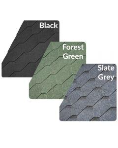 IKO Roof Felt Shingles: Hexagonal / 3 Tab (3m2)