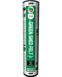 IKO Standard Shed Felt, Green Mineral