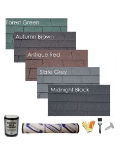 Suplaflex Square Shingles pack -  Ashbrook Roofing