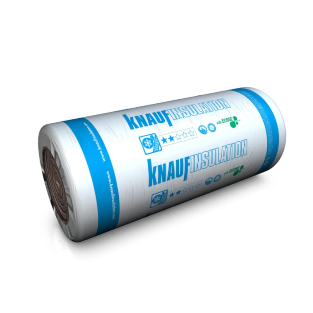 Knauf Earthwool Loft Roll Insulation 44, 100mm (13.89m²)