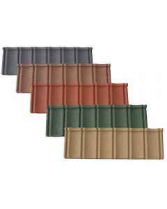 Lightweight Tiles: Granulated Pantiles