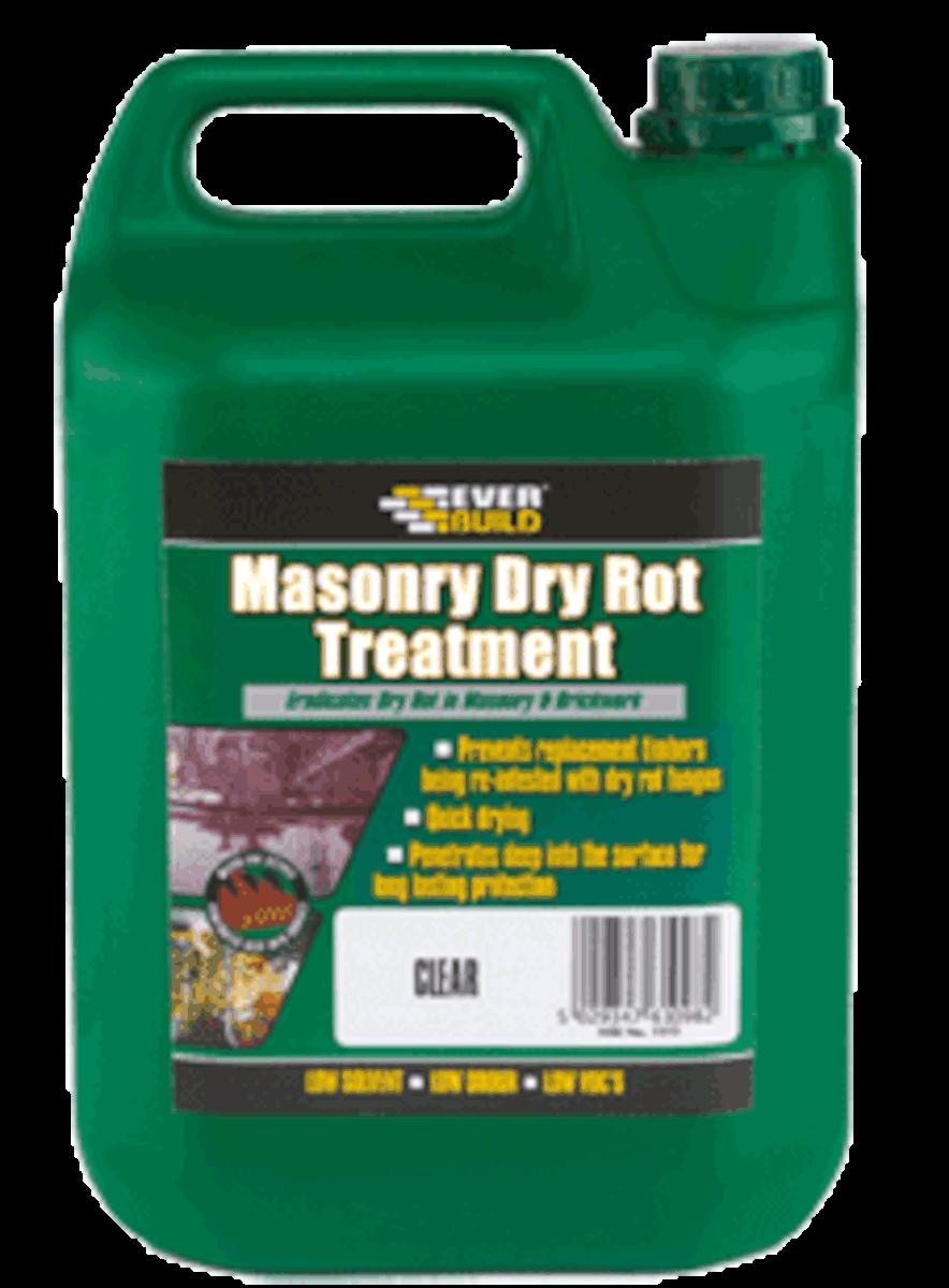 Everbuild Masonry Dry Rot Treatment: 5 ltr