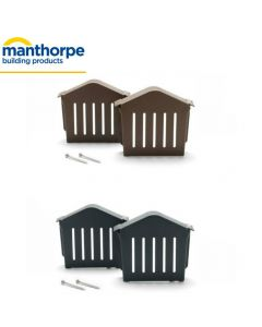 Manthorpe SmartVerge Eaves Closure Unit, Pack 2