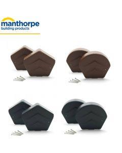 Manthorpe SmartVerge Ridge End Cap