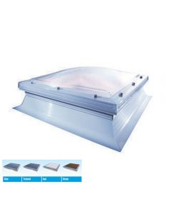 Mardome Kerbed Flat Roof Domes: Vented Rooflights