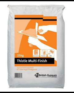 Thistle Multi Finish Plaster: 25kg