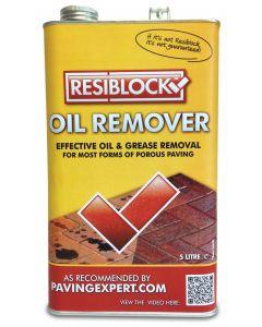 Resiblock Oil Remover: 1ltr Paving Cleaner