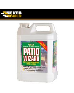 Patio Wizard Mould and Algae Treatment 5Ltrs