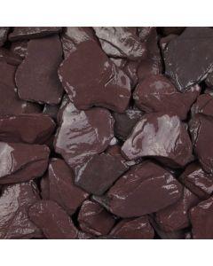 plum slate chippings