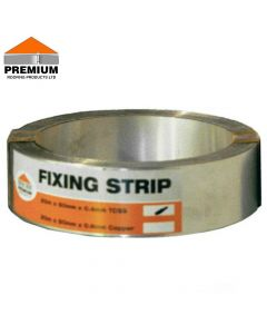 Premium Stainless Steel Fixing Strip: 10m x 50mm
