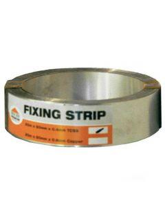 Premium Stainless Steel Fixing Strip: 20m x 50mm