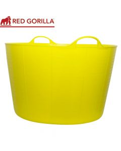 Red Gorilla Extra Large Tub, Yellow: 75ltr