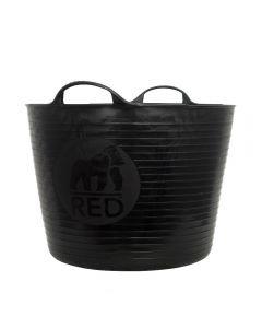 Red Gorilla Large Tub, Black: 38ltr