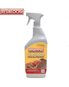Resiblock Oil Remover: 1ltr Paving Cleaner