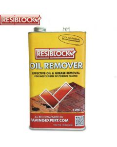 Resiblock Oil Remover: 5ltr Cleans Patio & Paving