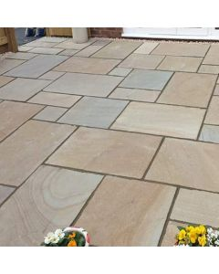 Rippon Buff Indian Paving: m² Patio Packs