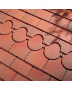 Dreadnought Country Brown Clay Tile: Sandfaced