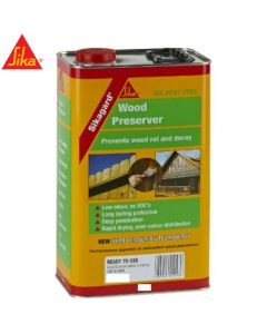 Sikagard Wood Preserver, Clear: 5ltr