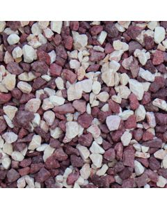 Sunset Red Chippings: 14-20mm