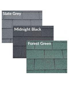Supaflex Lite Roof Felt Shingles: Square Butt / 4 Tab (2m2)