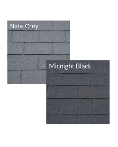 Supatuff Roof Felt Shingles: Square Butt / 4 Tab