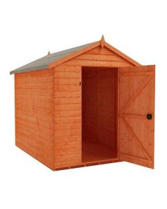 Apex roof garden shed