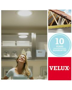 "TCF 0K14 1010 Velux 14"" Flat Roof Flexible Sun Tunnel"