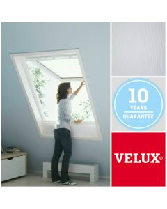 GPL CK06 2070 VELUX White-Painted Top-Hung Roof Window (55cm x 118cm)