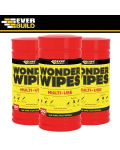 Everbuild Multi-Use Wonder Wipes: 100