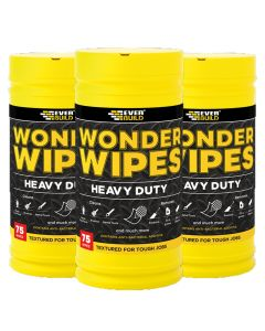 Everbuild Heavy Duty Wonder Wipes: 75