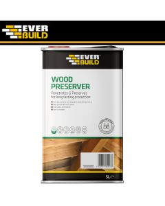 Everbuild Wood Preserver: 5ltr