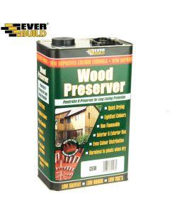 Everbuild Wood Preserver: 5ltr