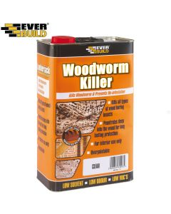 Everbuild Woodworm Killer: 5ltr