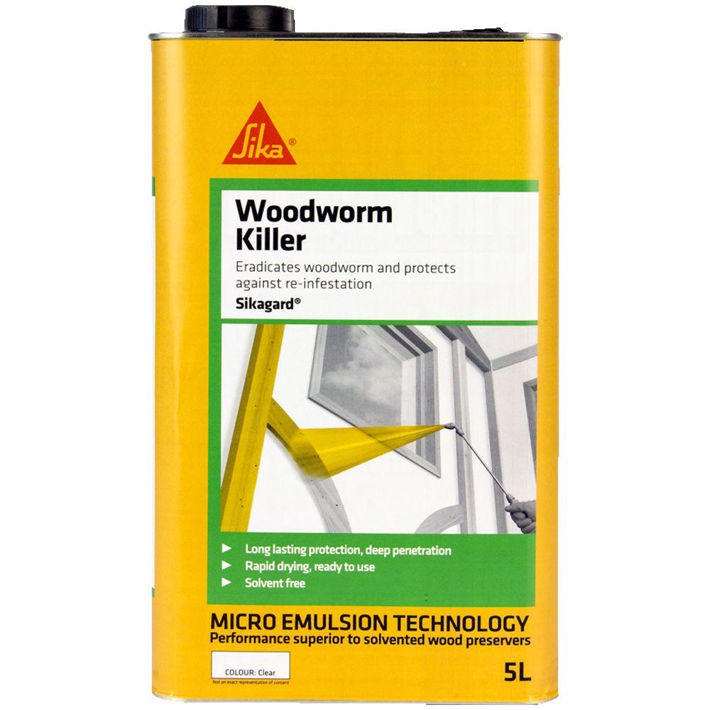 Sikagard Woodworm Killer: 5 ltr
