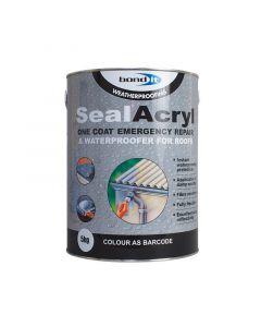 Cusotm Lisitng Sealacryl Black 5kg x 12 tins
