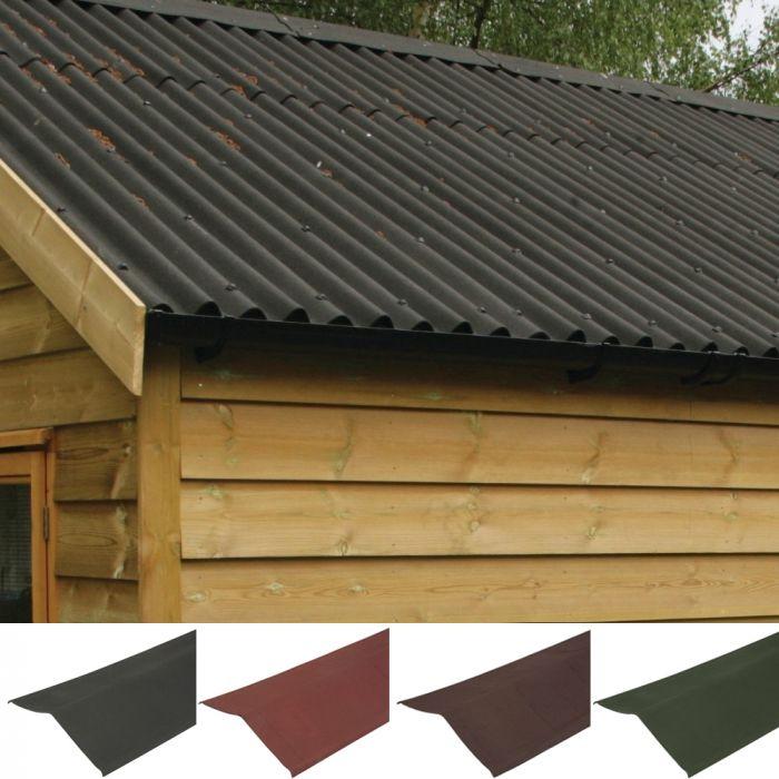 Coroline Corrugated Bitumen Roofing Sheets Verge