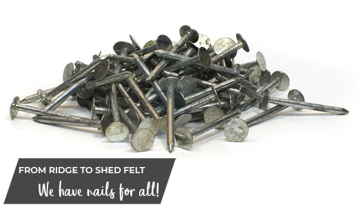 Nails and Fixings For Roofers